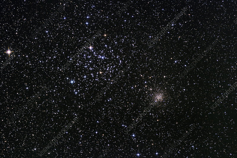 Star clusters M35 and NGC 2158