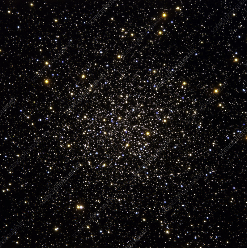 Centre of globular star cluster M12
