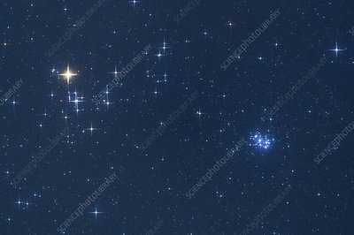 The Hyades and Pleiades