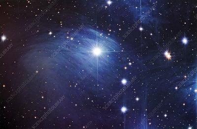 Pleiades star Merope