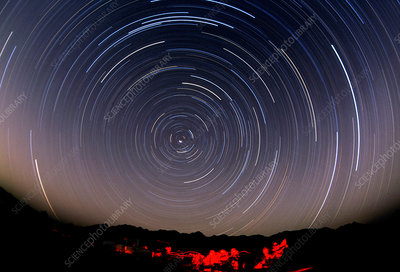 Polar Star Trails