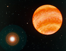 Artist's impression of planet 47 Ursae Majoris B