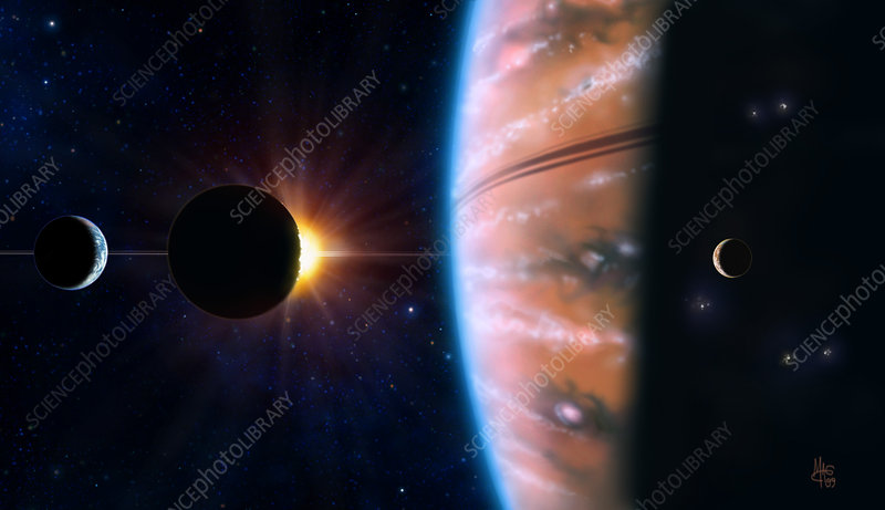 70 Virginis B planet - Stock Image R650/0112 - Science ...