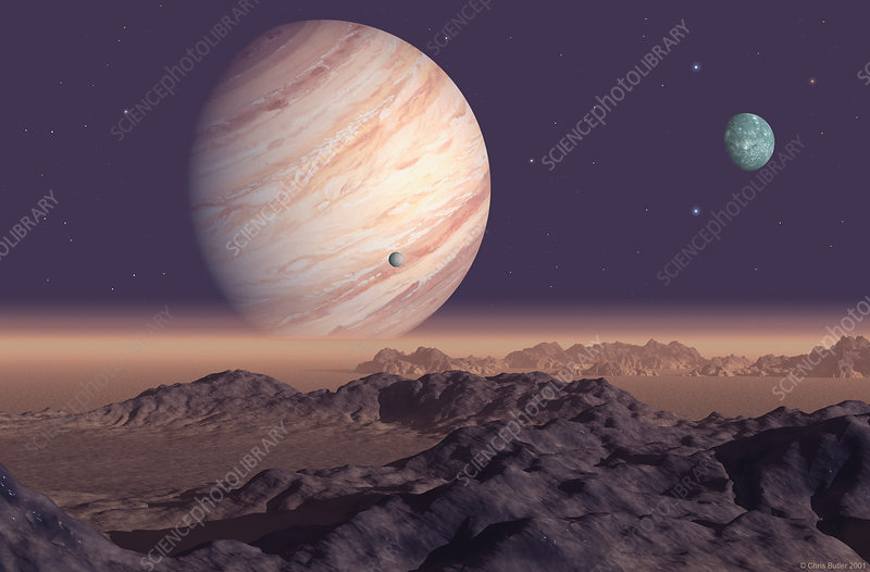 70 Virginis B planet - Stock Image R650/0127 - Science ...