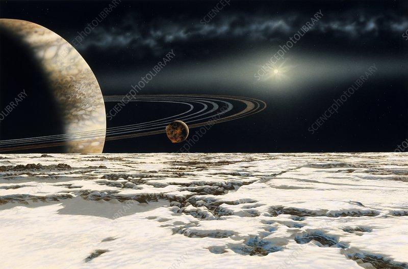 Alien planet around Epsilon Eridani