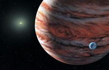 Extrasolar planet around 55 Cancri
