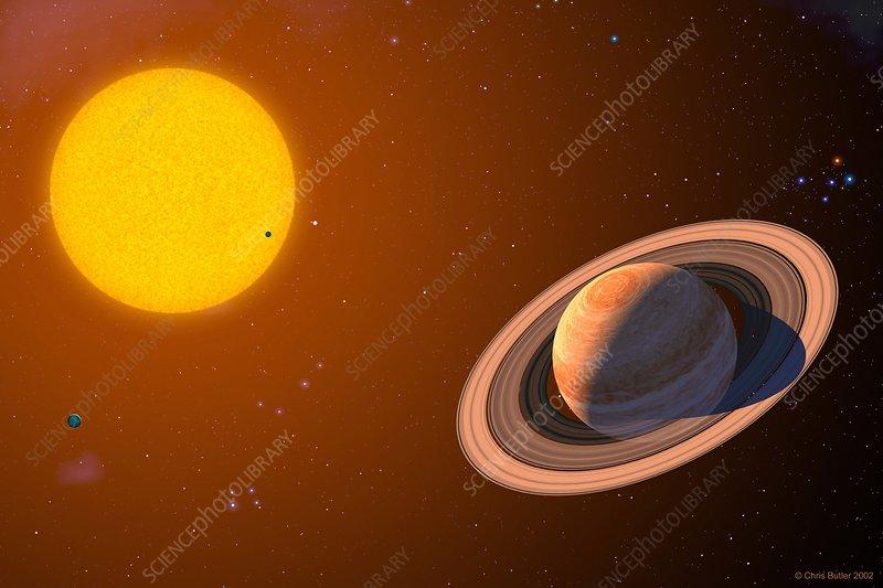 Iota Draconis planet - Stock Image - R650/0165 - Science