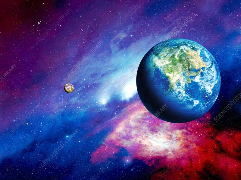 Habitable alien planet