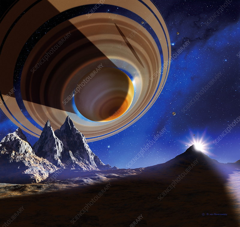 Ringed planet