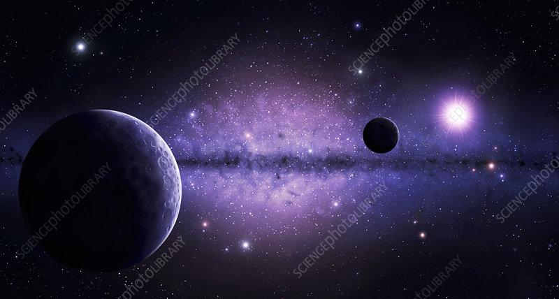 Galactic rim planets