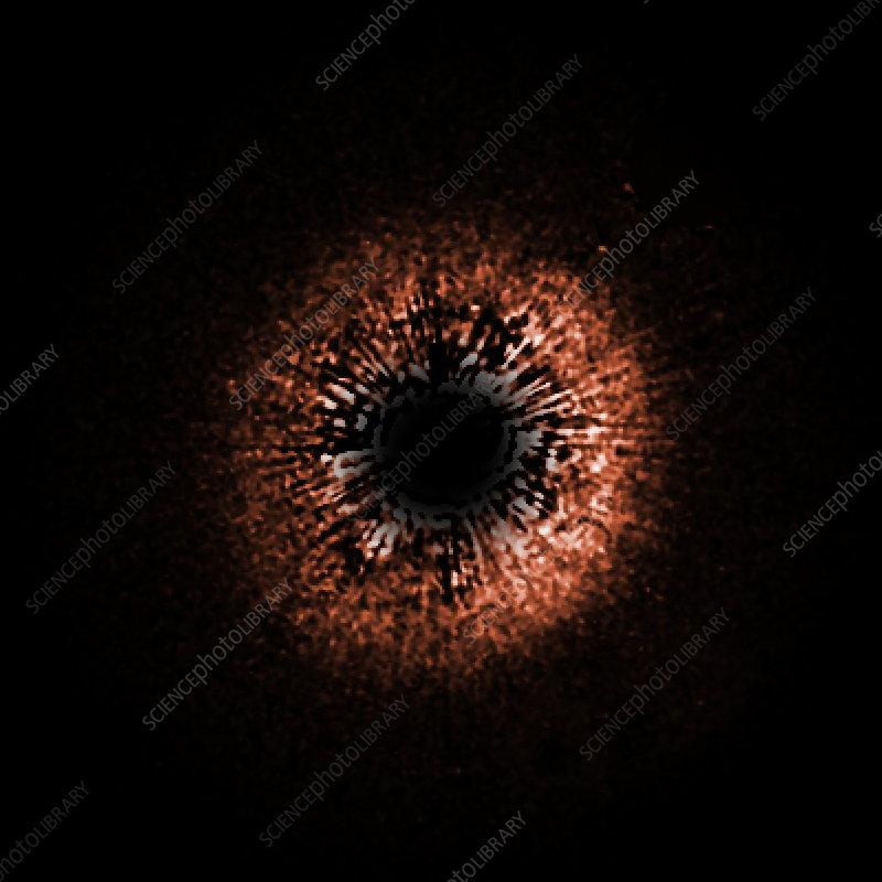 Dust disc around HD 107146, HST image