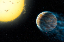 Planet HD 209458b and parent star
