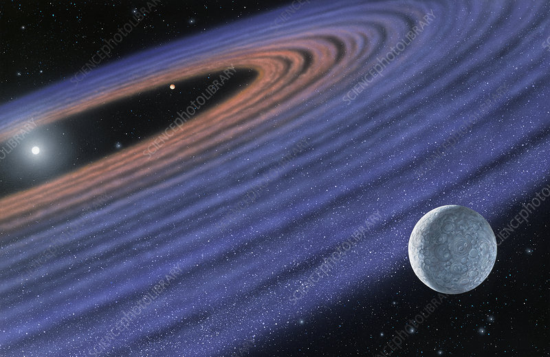 Extrasolar planets orbiting HR 4796A