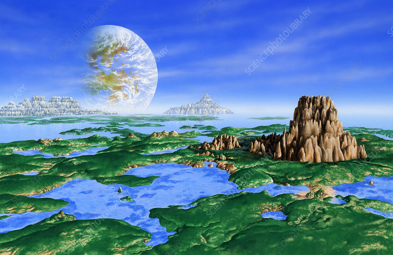 Earth-like extrasolar planet