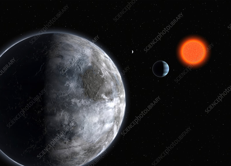 Extrasolar planet Gliese 581c