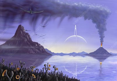 exoplanet landscape orbiting giant planet - photo #35