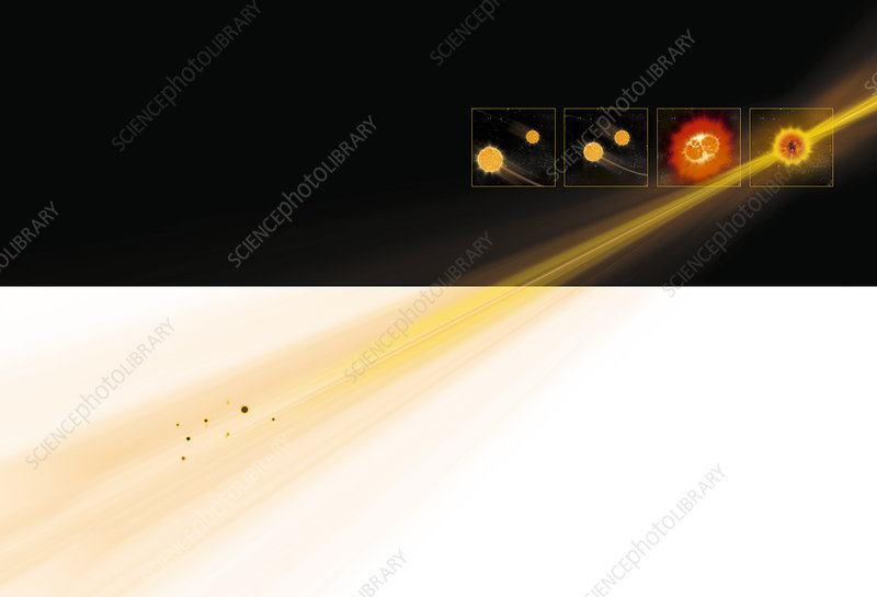 Gamma ray burst formation