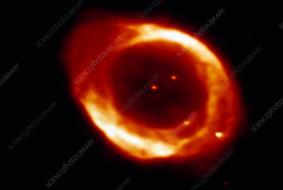 Optical CCD image of the Ring Nebula M57