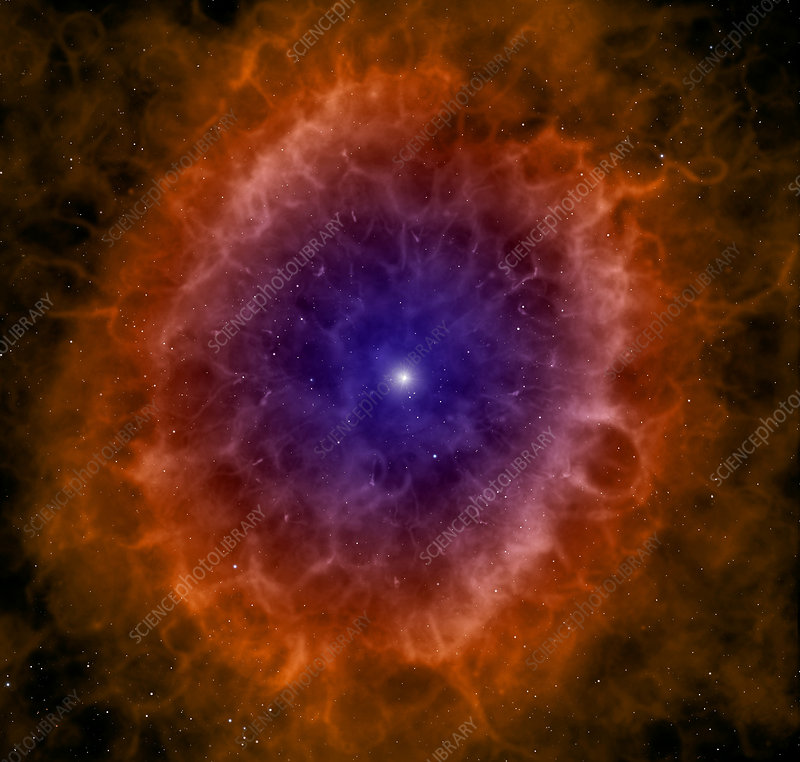 Planetary nebula - Stock Image R700/0145 - Science Photo ...