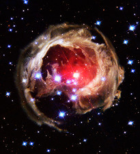 Light echoes from exploding star