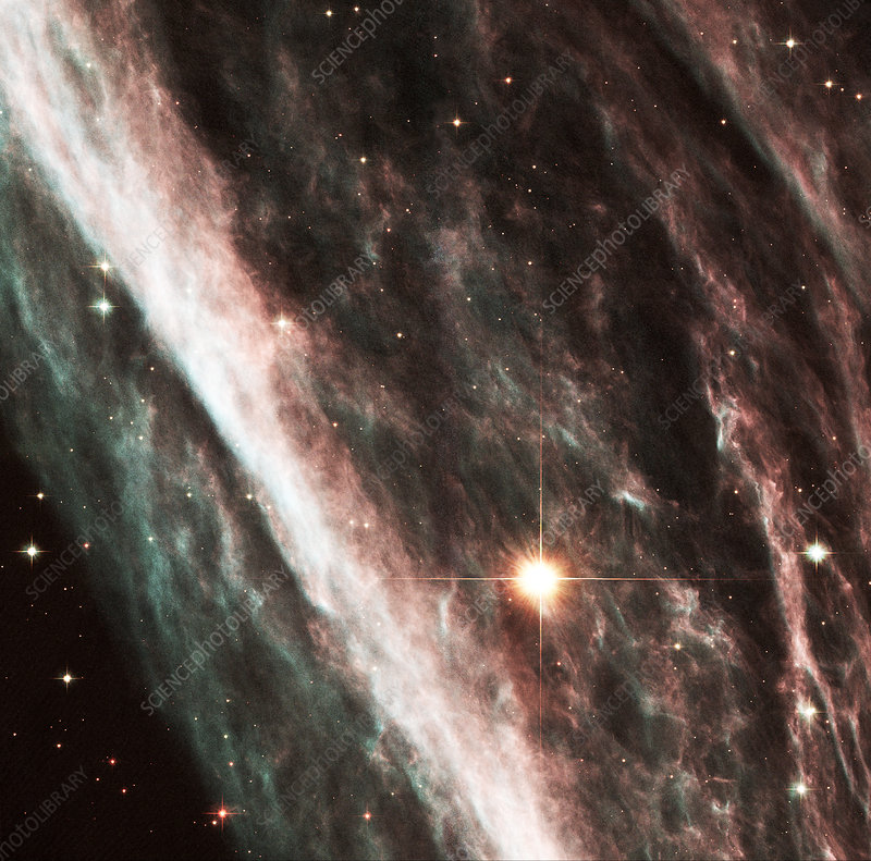 Pencil Nebula supernova remnant