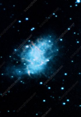 Optical photograph of the Crab Nebula