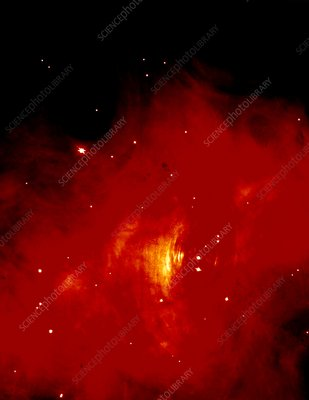 HST image of the centre of the Crab Nebula