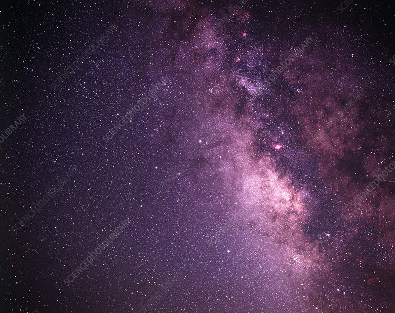 Milky Way (first of six images)