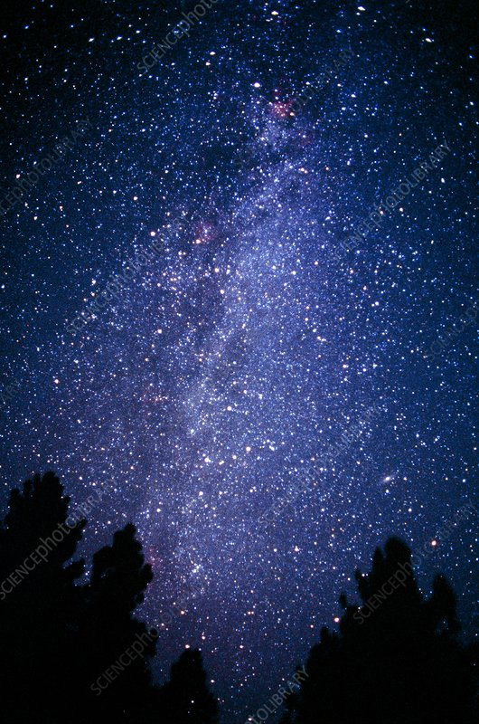 Milky Way from Cygnus to Cassiopeia