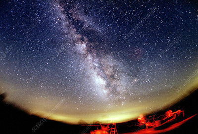 The Summer Milky Way