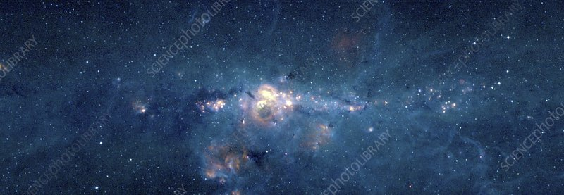 Galactic centre, X-ray image