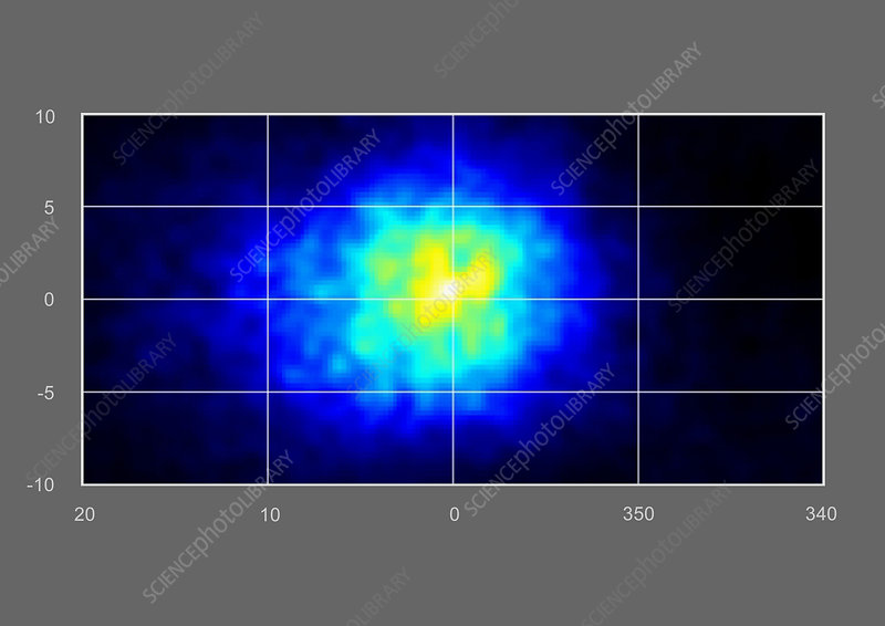 Galactic centre, gamma ray image
