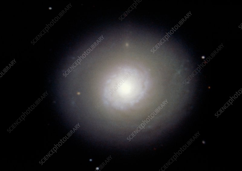 Optical CCD image of the spiral galaxy M94
