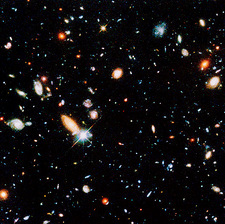 Very distant galaxies