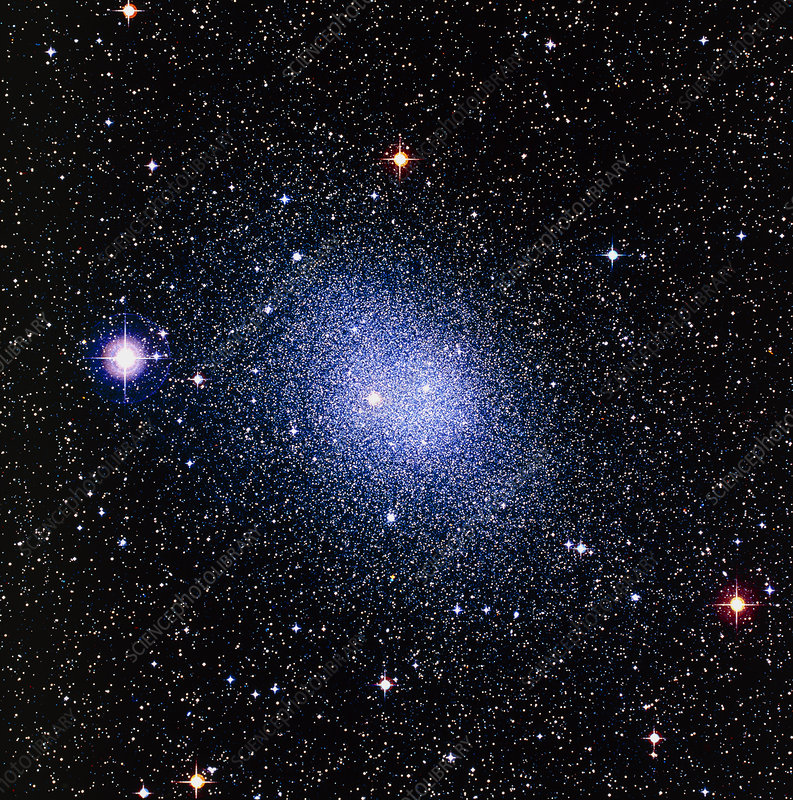Optical image of the Fornax dwarf galaxy