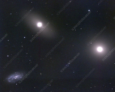 Elliptical galaxy M105