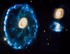 HST image of Cartwheel Galaxy