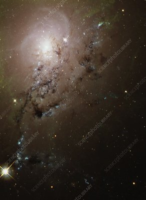 Colliding galaxies NGC1275