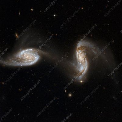 Interacting galaxies NGC 5257 and 5258