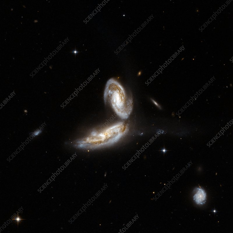 Interacting galaxy NGC 5331