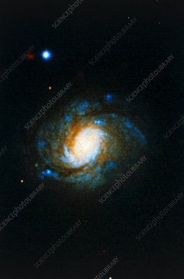 Seyfert type galaxy NGC 1068