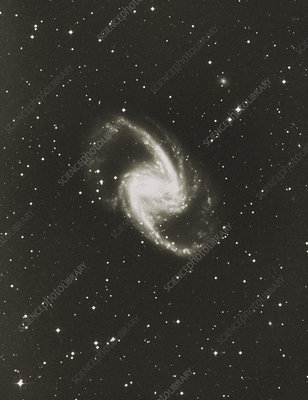 Optical image of Seyfert galaxy NGC 1365