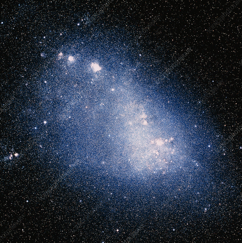 Optical image of the Small Magellanic Cloud