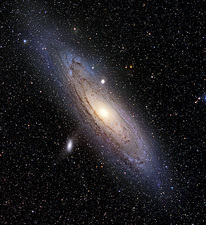 Andromeda galaxy (M31), optical image