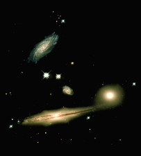 Galaxies in Hickson Compact Group 87