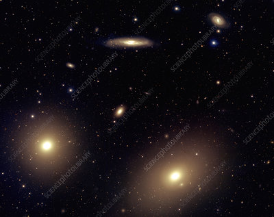 Virgo cluster galaxies