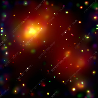 Galaxy cluster Abell 2125