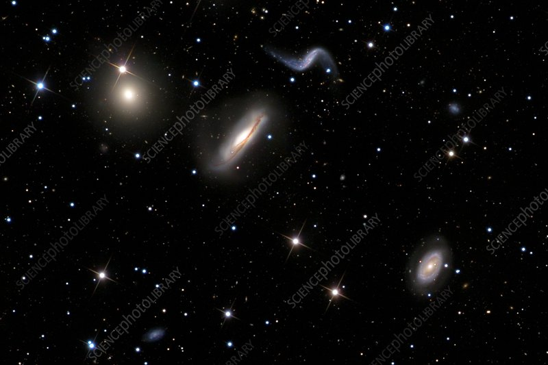 Hickson Compact Group 44 galaxy cluster