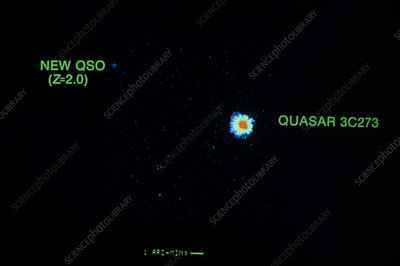 X-ray image of the quasar 3C 273