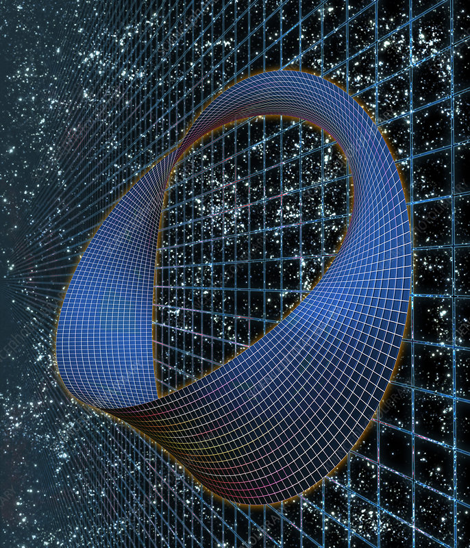 Curved space time stock image r980 0121 science photo for Space time curvature